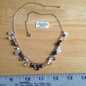 Jewelry - Sterling silver semi precious stone necklace.